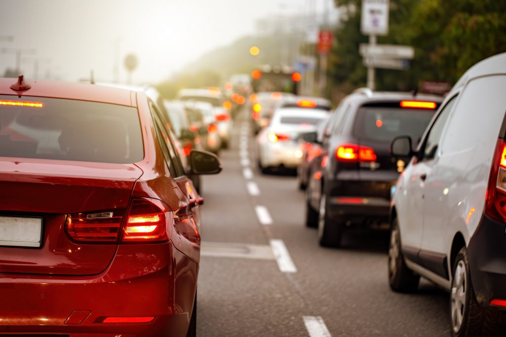 autópálya-forgalom