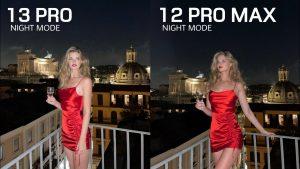 iPhone 13 Pro éjszakai fotó